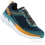 出清價5折【 HOKA ONE ONE 】男 Clifton 5 寬楦 強化包覆超緩震路跑鞋   深藍