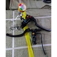 Full black rcs brembo rcs Brake Master Right Left universal Clutch motor And matic motor