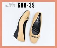 รองเท้าเเฟชั่นผู้หญิงเเบบคัชชูส้นเตารีด No. 688-39  NE&NA Collection Shoes