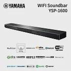 YAMAHA YSP-1600/BK 5.1聲道無線家庭劇院 公司正貨極地黑