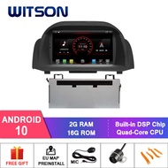 WITSON Android 10.0 Android Car DVD เครื่องเล่น Universal สำหรับ FORD FIESTA 2013-2018 2 DIN ใน Dash Car DVD ผู้เล่น