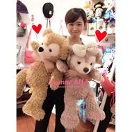 *Yvonne MJA*東京迪士尼Disney 海洋樂園限定正品Duffy達菲熊雪莉玫熊M號絨毛娃娃現貨 單隻價格