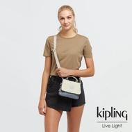 【KIPLING】經典率性丹寧前置袋蓋隨身斜背小包-FILIPA MINI