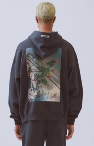 FOG Fear of God Essentials Double High Street Flower Photo with Hoodie Sweate