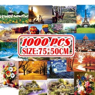 1000Pcs Jigsaw Puzzle Wooden Paper Puzzles Educational Toys for Adult Childen