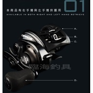 OKUMA-CERROS 塞羅 擬餌拋投捲線器/路亞捲線器/梭型捲線器/小烏龜捲線器 左/右手供應
