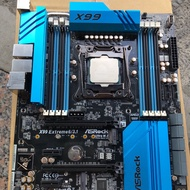 華擎 Asrock X99 Ex6 主機板 「 E5 I7 Xeon 」