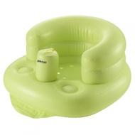 現貨  日本利其爾Richell 嬰兒幼兒多功能充氣  寶寶椅  沙發椅(綠/紫)