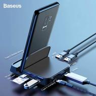 Baseus USB Type C HUB Docking Station สำหรับ For Samsung S10 S9 Dex Pad Station USB-C เป็น HDMI Dock Power Adapter