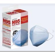 萊潔 LAITEST N95醫療防護口罩-海洋藍/20入盒裝