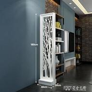 現代簡約客廳家具屏風鏤空座屏隔斷置物架花架時尚玄關屏風隔斷櫃