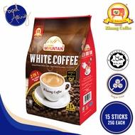 [Kluang Coffee] Kluang Coffee Cap TV White Coffee (2in1) 15's 25gm x 15 sticks