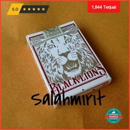 Puncak Black Lions Red Edition Playing Cards By David Blaine Best-selling