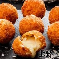 【上野物產】加拿大熱銷品 牽絲起司薯球 x5包(200g±10%/包 起司薯球 氣炸鍋料理)