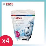 【BOSCH 博世】洗碗機專用鹽/洗碗鹽(1kg袋裝 四入)