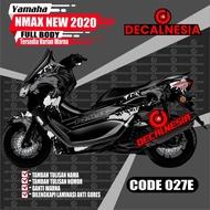 Decal Stiker Full Body Motor Yamaha Nmax New 2020 facelift Dekal 2021
