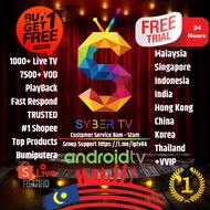 SYBERTV / SYBERIPTV / SYBER TV IPTV VVIP FREE TRIAL FOR ANDROID