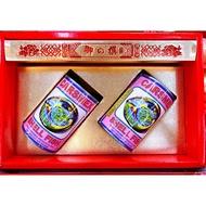 鮑魚罐頭禮盒(三粒/罐)~超大顆南美洲鮑貝~大稻埕老店~年節禮盒~拌手禮