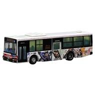 Tomytec 巴士收藏 1/150 立川巴士 機甲少女聯名塗裝 萬年東海