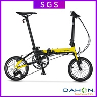 🔥In Stock🔥 Dahon K3 Folding Bicycles Ultra Light 14 Inch Variable Speed Adult Student Kaa433