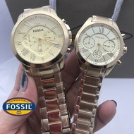 FOSSIL Couple Watch Two Original Pawnable Stainless FOSSIL Watch For Women FOSSIL Watch For Men