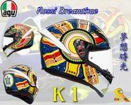~任我行騎士部品~AGV K1 DREAMTIME 亞洲版日規 單鏡片 全罩 安全帽 #夢想時光