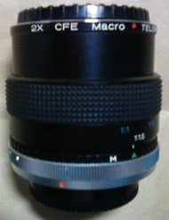 For CANON FD 兩倍增距鏡+微距鏡 2X CFE Macro TELEPLUS MC7 MADE IN JAPAN
