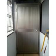 鋁製門/鋁門片/浴室門/廁所門/廚房門/後門 (含門框)