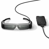 EPSON Moverio BT-200 / 3D智慧眼鏡 頭戴式影院 960x540高解析度,畫質超乎想像 內建Wi-Fi/藍芽
