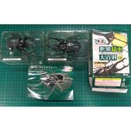 2隻~仿真昆蟲盒玩~F-Toys世界昆蟲大百科第2彈 6號甲蟲(有斷件)