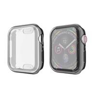 ดูกรณีปกสำหรับ Apple Watch ซีรีส์ 5 4 3 2 1 วงกรณี 42 มิลลิเมตร 38 เมตร 40 มิลลิเมตร 44 มิลลิเมตรบางกรณี TPU ป้องกันสำหรับ 4 44 มิลลิเมตร=Watch Cover case For Apple Watch series 5 4 3 2 1 band case 42mm 38m 40mm 44mm Slim TPU case Protector for 4 44mm