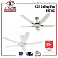 KDK Ceiling Fan Z60WS