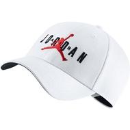 【NIKE】JORDAN L91 JM AIR HBR 飛人 配件 休閒 白 帽子 -CK1248100