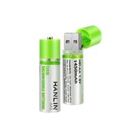 HANLIN 環保USB充電AA3號電池