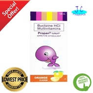 PROPAN Buclizine HCI + multivitamin syrup 120ml
