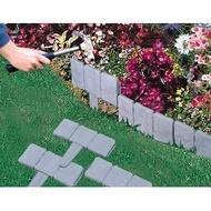 仿石頭花園圍籬/籬笆/園藝造景(10片裝)