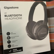 免運費 現貨 9.9成新 只戴一次出貨快速 頭戴耳罩無線耳機 Gigastone A1藍牙主動式抗噪耳機 藍牙 消噪耳機