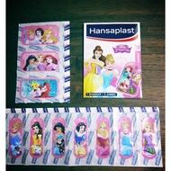 迪士尼 公主系列 ,冰雪奇緣,愛紗 安娜公主,德國帶回 收藏ok繃, 德國製, HANSAPLAST  ok繃,數量有限