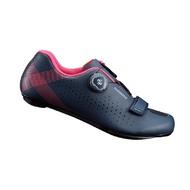 SHIMANO RP5 女性進階款公路車鞋 自行車鞋 卡鞋(藍粉)【7號公園自行車】