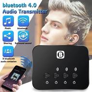BW-107 5V HIFI Sekitar Stereo Bluetooth 4.0 Berbagi Audio Pemancar USB Adaptor RCA