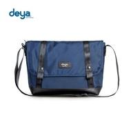 【deya】率真自我斜背包-藍色(頂級N66防彈尼龍)