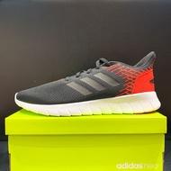 adidas NEO ASWEERUN 男生 灰黑色 休閒 慢跑鞋 F36997