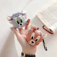 現貨在台**Airpods airpods2 矽膠 耳機保護套  湯姆貓與傑利鼠