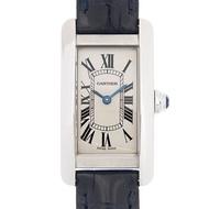 CARTIER  TANK  AMERICAINE 時尚小型腕表 x34.8x19mm
