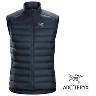 【ARCTERYX 始祖鳥 加拿大】Cerium LT 羽絨背心外套 羽絨夾克 保暖外套 男款 夜景藍 (L06919300)