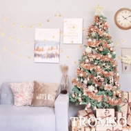 TROMSO 北歐絕美180cm聖誕樹6呎/6尺(含滿樹豪華掛飾+贈送燈串)-玫瑰金