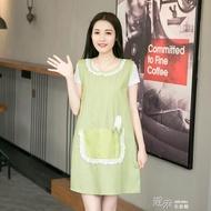 坎肩圍裙女韓國時尚可愛背心式薄款廚房做飯家用馬甲式
