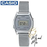 Casio Standard นาฬิกาข้อมือผู้หญิง สายสแตนเลส รุ่น LA690WEM-7DF สีเงิน