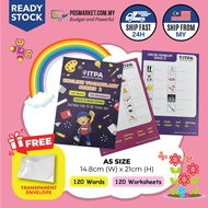 English Vocabulary Series 2 Writing Word Worksheets A5 Size Learn English Workbook Game English Home Study Vocabulary Book Learning Books for Kids Children POSMarket BizCloud Ready Stock Ship from Malaysia