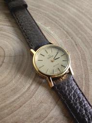 【稀有品】歐米茄OMEGA DE VILLE橢圓形手上鍊古董錶 /女士錶